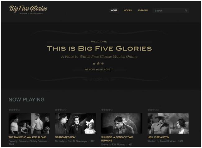 Classic Movies Online Big Five Glories 2018 04 05 14 50 40