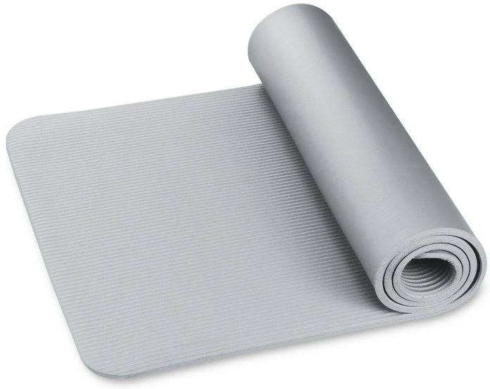 Yoga and Fitness Mat NBR INDIGO 173 * 61 * 1.5 cm Gray