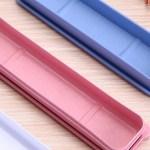 Tragbar Essstabchen Aufbewahrungsbox Wiederverwendbare Kunststoff Besteck Box Ebay