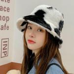 Autumn Winter Bucket Hat Women Fashion Fluffy Fur Hats Ladies Fisherman Hat Cap Ebay