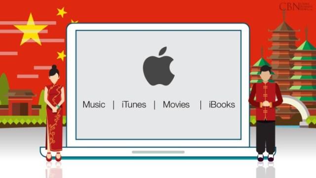 iTunes movies china