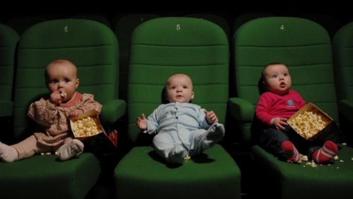 Resultado de imagen para cine bebes
