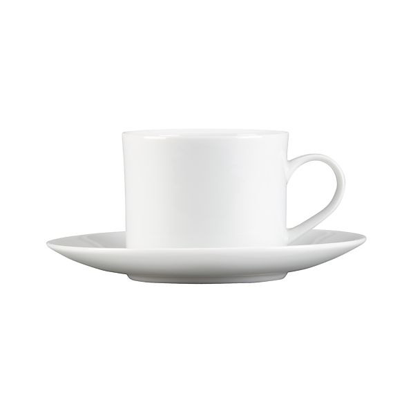 Aspen Cup And Saucer Crate And Barrel