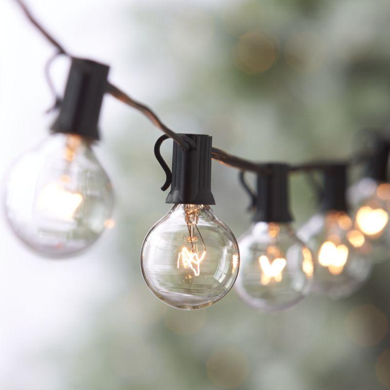Christmas Lights Globe