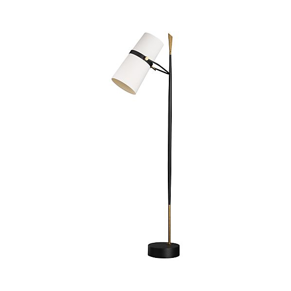 Riston Floor Lamp   Crate and Barrel on Riston Floor Lamp  id=38532