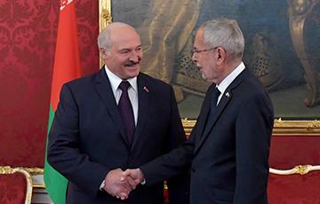 DW: Визит Лукашенко в Вену закончился скандалом