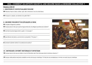 Calaméo - La Liberté guidant le peuple de Delacroix