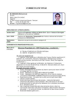 Calamo CV Benazza Med