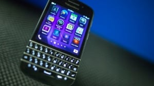 BlackBerry's new raft of handsets released earlier this year, including the Q10, above, did not sell as well as the financially troubled company had hoped they would and it was forced to undergo restructuring and start looking for potential buyers.
