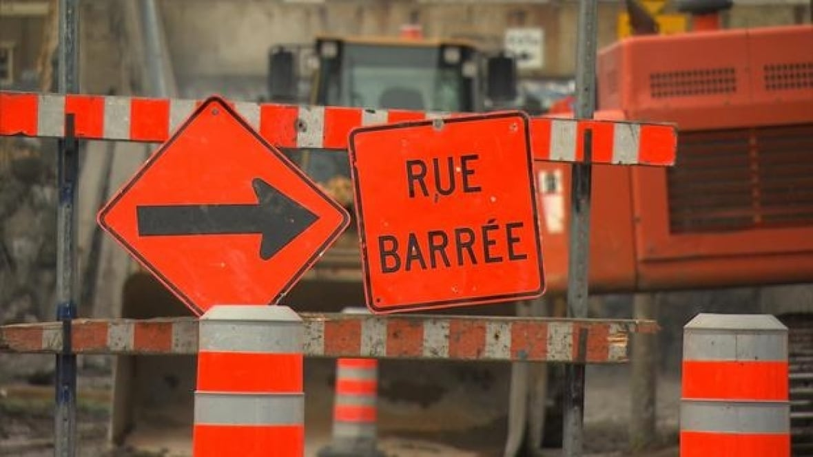 Road Closures Planned For Weekend Construction Montreal