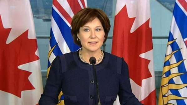 Greenhouse gas emissions from LNG defended by B.C. premier ...