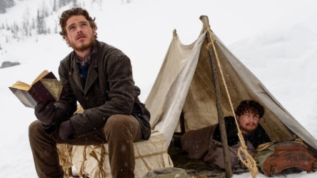 Richard Madden, left, and Augustus Prew are several of the high-profile stars in Klondike, which is set to premier on Jan. 20 on Discovery Channel.