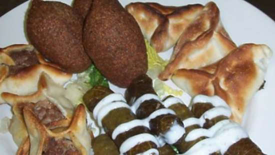John Gilchrist says he enjoyed the small plate Eastern Mediterranean style of dining at Aida's.