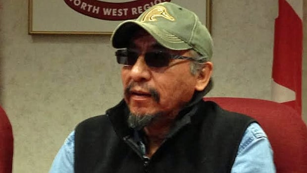Pikangikum First Nation Chief Paddy Peters says chief and council are refusing to host a polling station for the Ontario election because candidates in the riding are ignoring pressing issues for his community. (Nicole Ireland/CBC)
