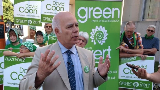 Green Party Leader David Coon set a goal of having his party win a legislature seat and double its percentage of the popular vote by attaining nine per cent.
