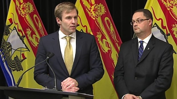 Premier Brian Gallant and Energy Minister Donald Arseneault announced a moratorium on all forms of hydraulic fracturing in New Brunswick on Thursday.