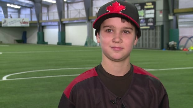 Brandon Wentzell, 11, is looking forward to bringing baseball gear and school supplies to the kids in Cuba.