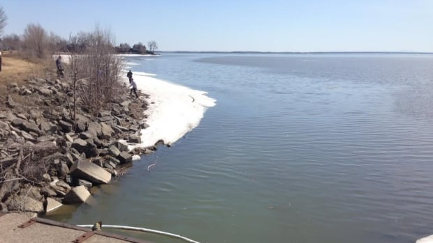 Montreal Sailing Oily Substance Fouling Lac St Louis