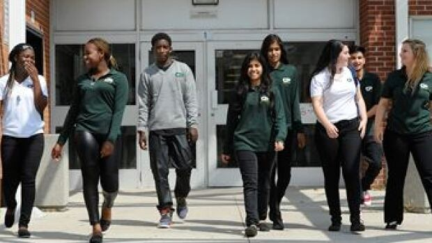 School Dress Code Protests Giving Uniforms New Life CBC News