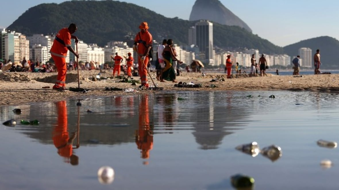 Rio Olympics Government Rules Water Unfit For Swimming