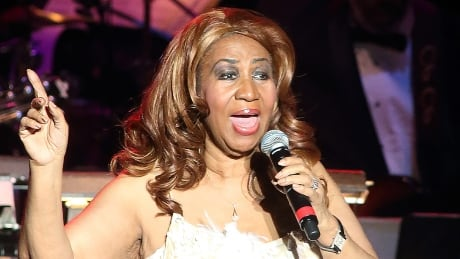 Aretha Franklin performing in Baltimore