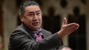 Quebec NDP candidate Romeo Saganash said he is opposed to women wearing the niqab during citizenship ceremonies.