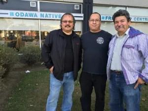 Odawa Morgan Hare, Christopher Wong, Tito Medina