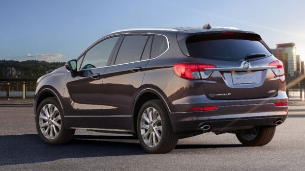 The Buick Envision is a cross-over SUV made in Shandong in northeastern China.