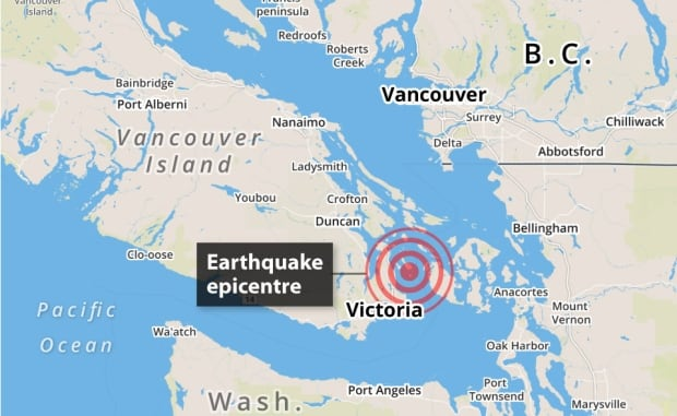Sannich earthquake