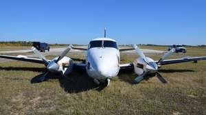 TSB: Tangled wires caused landing gear malfunction at