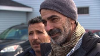 Rajhed Al Turkmani says Canadians have done more for him than he ever expected. He moved to Halifax one month ago.