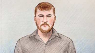 Michael Leblanc appeared in an Ottawa courtroom Tuesday afternoon to face a charge of second-degree murder.