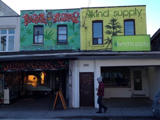 Medical marijuana dispensary in Toronto