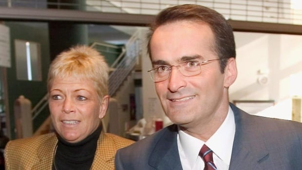 Jean Lapierre and his wife, Nicole Beaulieu, were killed Tuesday when a plane crashed on Quebec's Îles-de-la-Madeleine. They were on their way to a funeral for Lapierre's father.