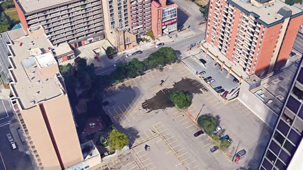The future of this Calgary Chinatown parking lot will be discussed at city council Monday.
