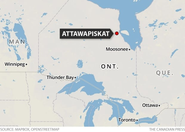 Attawapiskat map