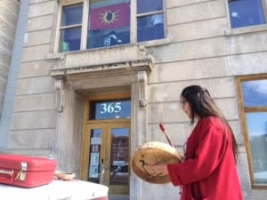 INAC protest