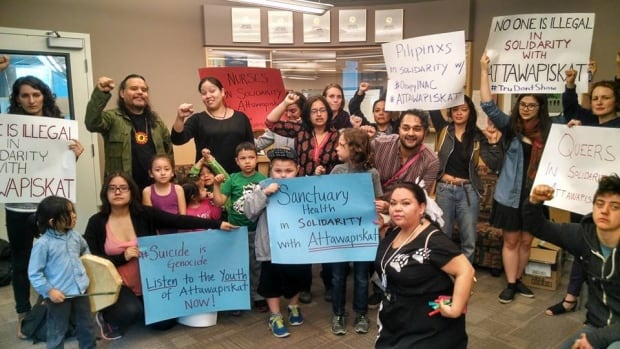 OccupyINAC Vancouver