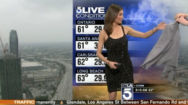 Meteorologist Told To Cover Her Inappropriate Dress With A Sweater Mid Broadcast Trending