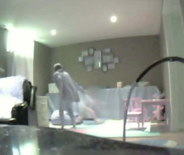 Worried By Her Four Year Old Autistic Sons Sudden Change Of Behaviour Jennifer Installed A Hidden Camera To Record An At Home Session With His Therapist