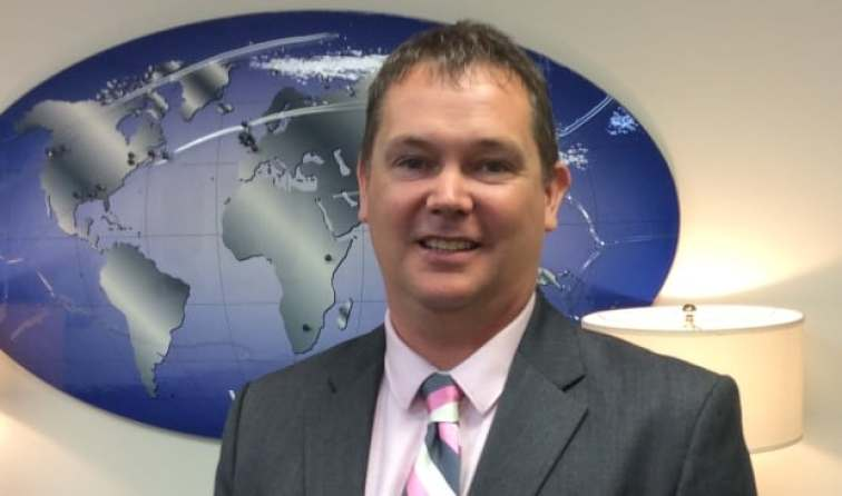 Vector president Jeff Poirier