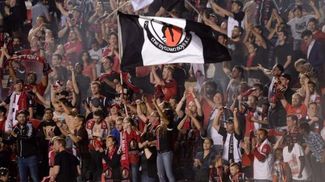 Image result for Ottawa fury supporters section