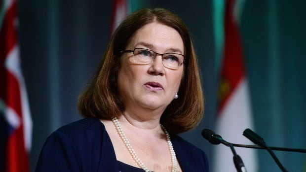 Jane Philpott, minister of health, speaks in Ottawa in June. Health Canada will allow medical marijuana patients to grow their own cannabis at home with the approval of their doctor and Health Canada.