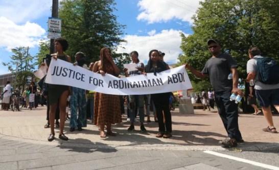 Justice for Abdirahman Abdi