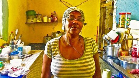 Rosa Amalia Brito, favela