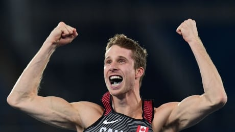 victory and defeat Derek Drouin high jump gold