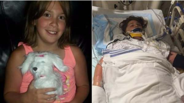 'Freak accident' has Airdrie girl in medically-induced ...