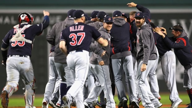 The Toronto Blue Jays are headed to Cleveland for the ALCS after the Indians swept the Boston Red Sox on Monday night.