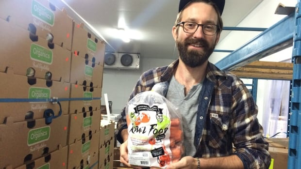 Brody Irvine is one of the brains behind Rebel Food — a program to get ugly organic fruits and veggies into the mouths of consumers to limit the amount of food waste in the region.