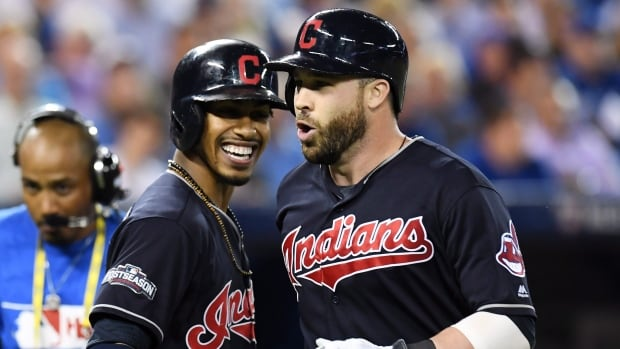 Jason Kipnis hit a solo home run in the sixth inning to lift the Cleveland Indians to a 4-2 win over the Toronto Blue Jays in Game 3 of the American League Championship Series
